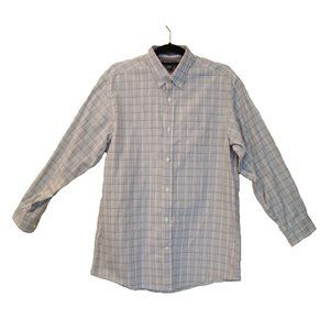 Eddie Bauer Relaxed Fit Wrinkle Free Shirt M